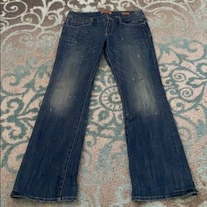 Seven 7 jeans size 8/30 eur with paint splatter
